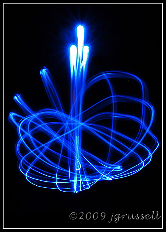 Blue light angels -- Still Life, B/W & Experimental in photography