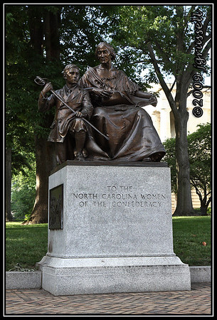NC Civil War Statue