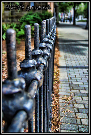 Church fence